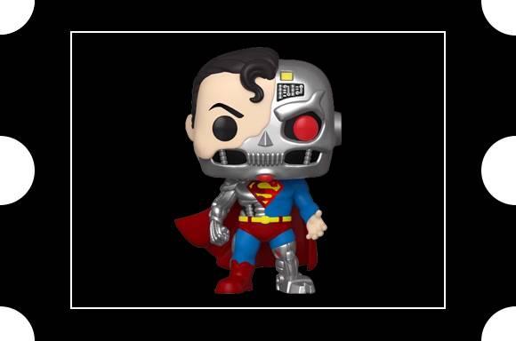 DC Comics Cyborg Superman SDCC 2020 EXC Pop! Vinyl Figure
