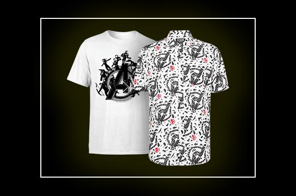 Summer Printed Shirt and T-shirt Bundle