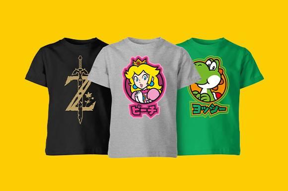 Nintendo Kids Tees - £5