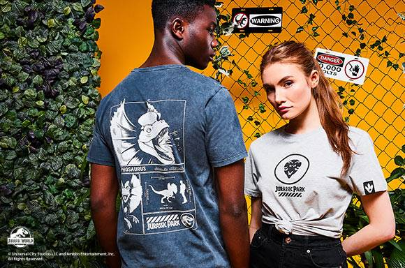 30% OFF SELECTED JURASSIC PARK CLOTHING