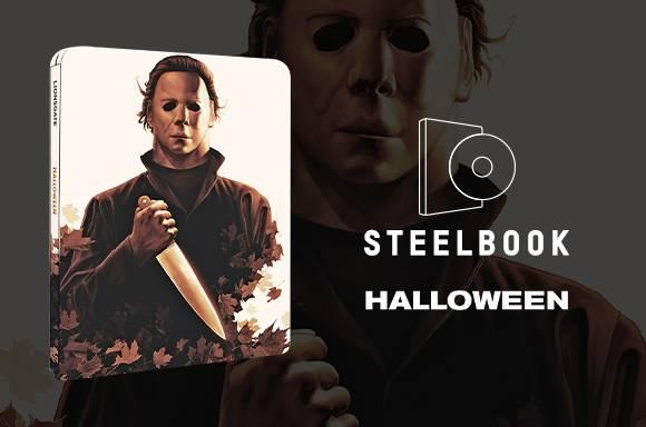 Halloween - Zavvi Exclusive 4K Ultra HD Steelbook & Clear Slipcase (Includes Blu-ray)