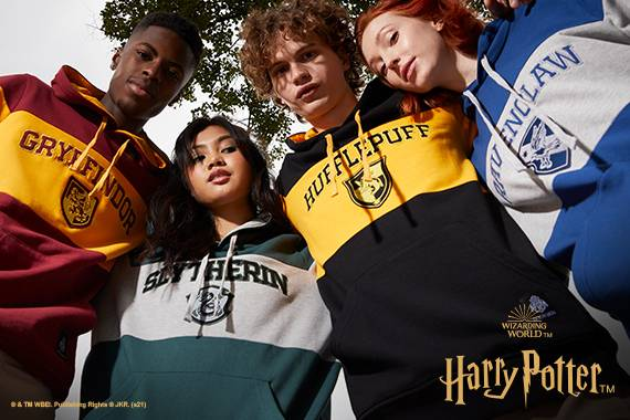 HARRY POTTER X HOUSE PRIDE COLLECTION