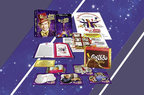 WILLY WONKA STEELBOOK BUNDLE