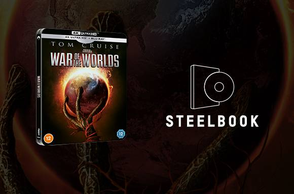 War Of The Worlds 4k UHD Steelbook