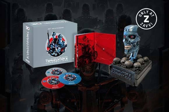 Terminator 2 - Judgement Day 4K Ultra HD 30th Anniversary Endo Skull