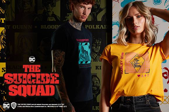 THE SUICIDE SQUAD COLLECTION