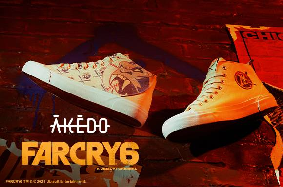 FAR CRY 6 X AKEDO FOOTWEAR