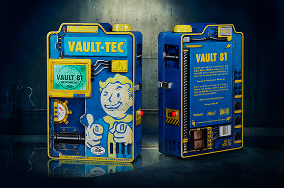 Doctor Collector Fallout Vault Dweller's Welcome Kit & Projector!