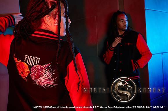 MORTAL KOMAT Varsity Jacket