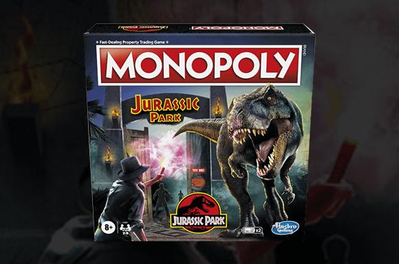 25% OFF Jurassic Park Monopoly
