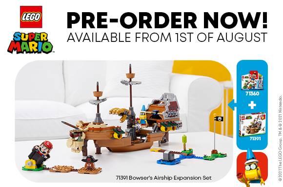 LEGO Super Mario™ Bowser's Airship Expansion Set
