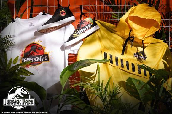 Jurassic Park T-shirt, Jacket & Trainers - £99.99