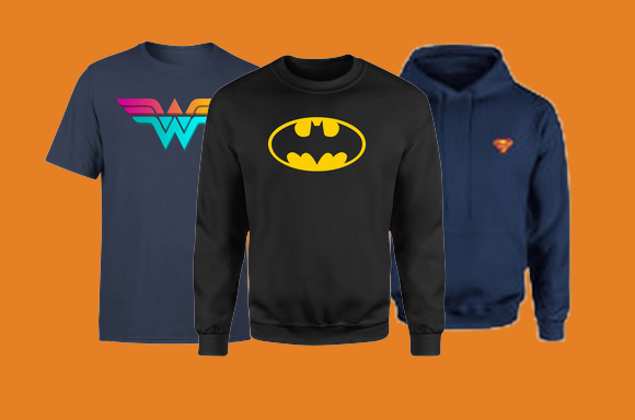 40% Off DC Clothing