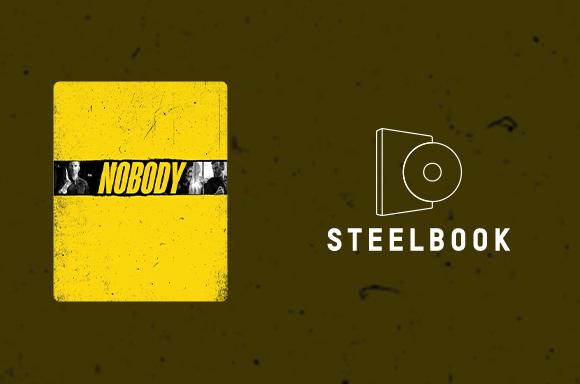 NOBODY 4K STEELBOOK