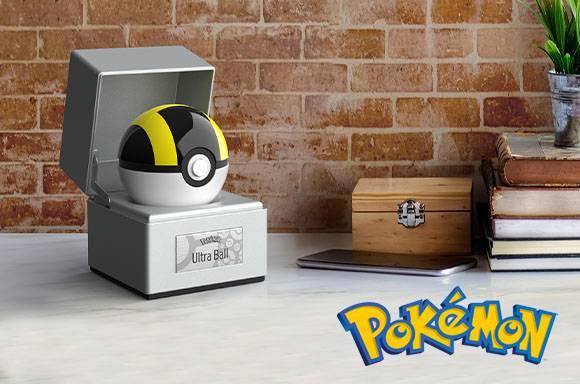 Pokémon Die-Cast Ultra Ball Replica and T-Shirt