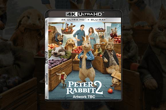 Peter Rabbit 4K UHD Blu-Ray