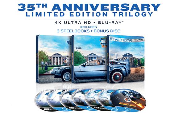 Back To The Future 35th Anniversary - Zavvi Exclusive Steelbook