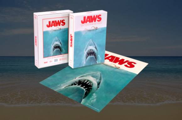 Dust! Jaws Classic Movie Poster 1000pc Puzzle