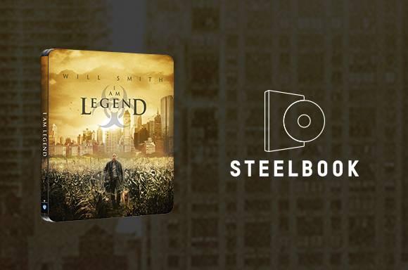 I Am Legend - Zavvi Exclusive 4K UHD & Blu-ray Steelbook