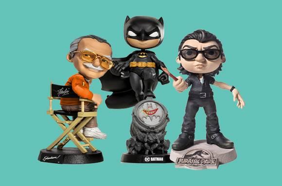 30% Off Iron Studios Mini Co Figures