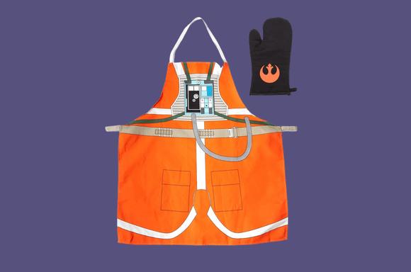 Delantal y guante de cocina Star Wars