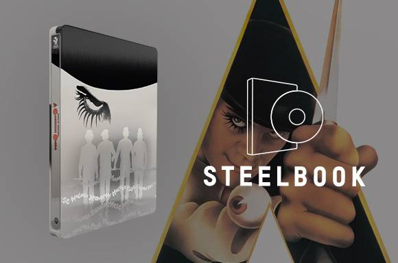 Steelbook 4K La Naranja Mecánica