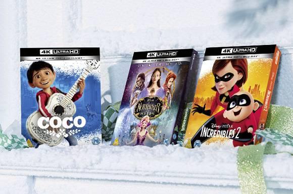 Colección en 4K UHD de Disney & Pixar