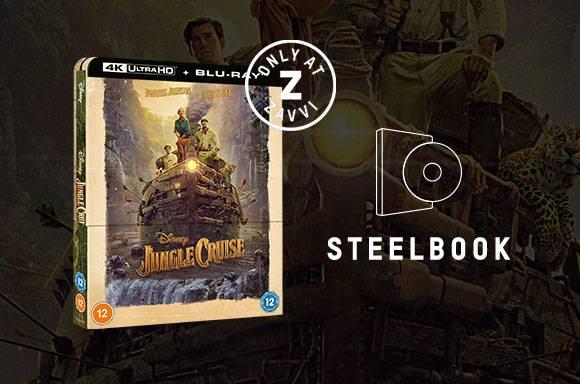 Steelbook en 4K Ultra HD de Jungle Cruise