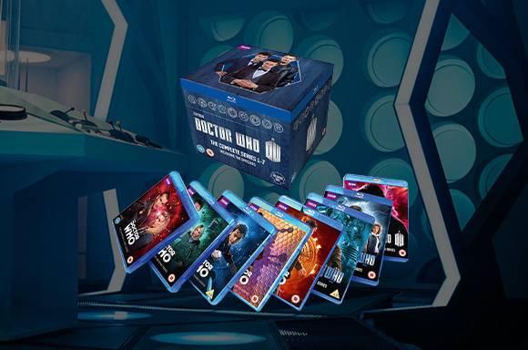 Bajada de precios en Blu-Ray de Doctor Who Series 1-7