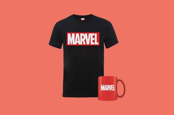 Taza + Camiseta Marvel SÓLO 9.99€