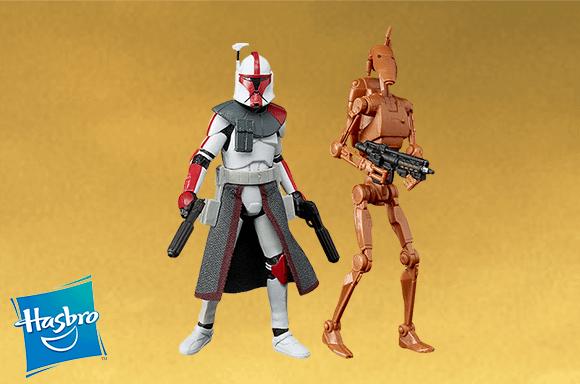 Figuras de Star Wars & Marvel