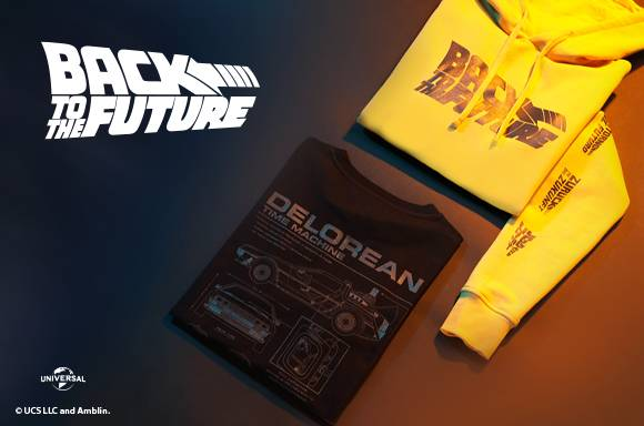 PREMIUM BACK TO FUTURE CLOTHING DROP