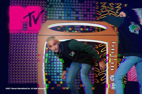 MTV LOGO Varsity Jacket