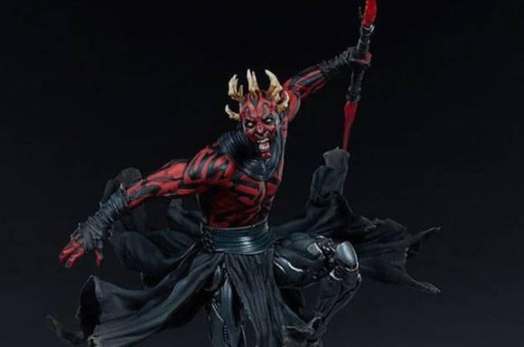 Star Wars Mythos Statue Darth Maul!
