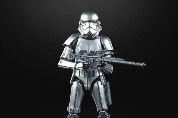 Figura de acción Stormtrooper - Star Wars The Black Series Colección Grafito