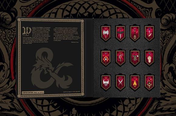 Set de 12 Pins de Realidad Aumentada de Pinfinity Dragones & Mazmorras