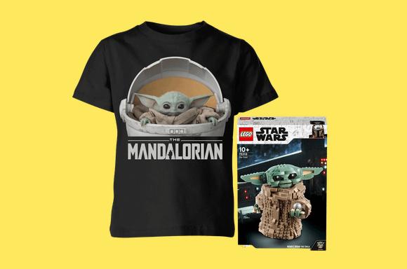 Baby Yoda LEGO & Tee Bundle