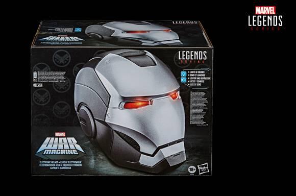 Casco Hasbro Marvel Legends Vengadores War Machine Juego de Rol
