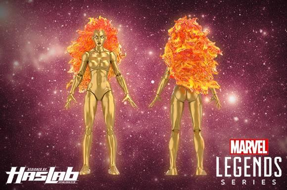Figura de acción de Frankie Raye (Nova) de Marvel Legends