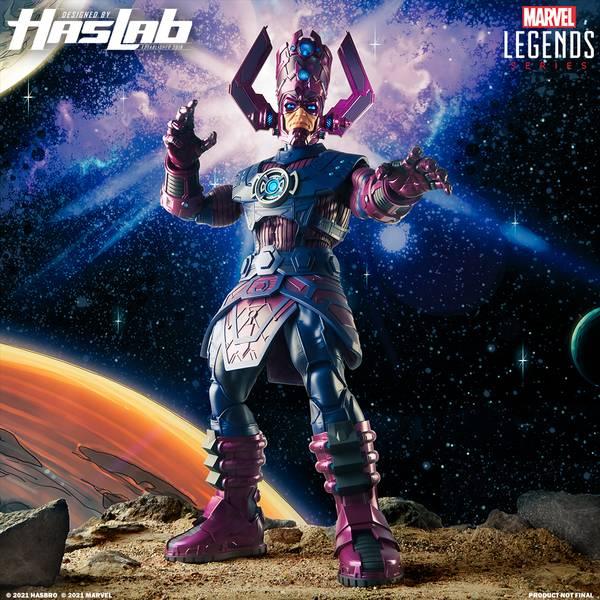 Figura de colección de Galactus de Hasbro - HasLabs Marvel Legends