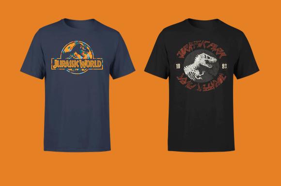 Camisetas Parque Jurásico