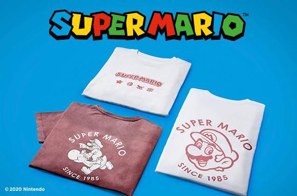 ROPA DE SUPER MARIO
