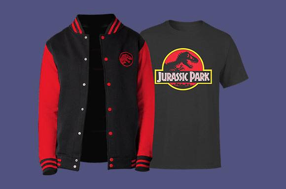 Chaqueta y camiseta de Jurassic Park SÓLO 26.99€ (envío incluido)