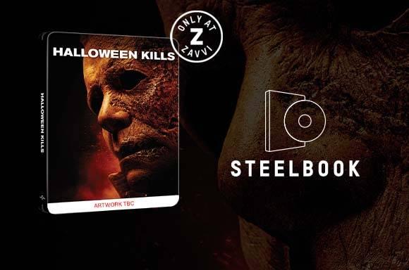 PACK STEELBOOK HALLOWEEN KILLS Y CAMISETA