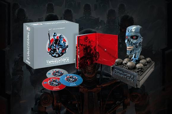 Terminator 2 - El Juicio Final: Exclusivo en Zavvi en 4K Ultra HD 30º Aniversario Endo Skull