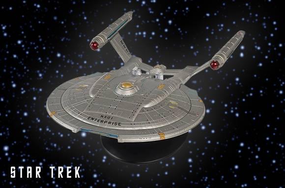 El NX-01 Starship de Star Trek Die Cast USS Enterprise