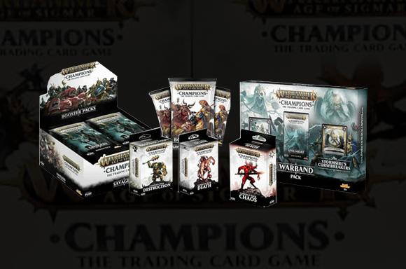 Coffret de Jeu de Cartes à Collectionner Warhammer Age Of Sigmar Deluxe