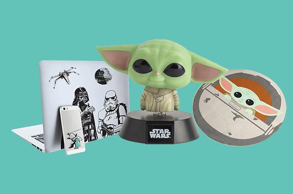 10% de réduction sur les objets de collection Star Wars
