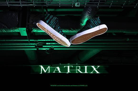 Chaussures Matrix en toile noire de haute qualité