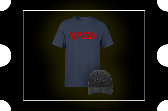 T-shirt et casquette NASA